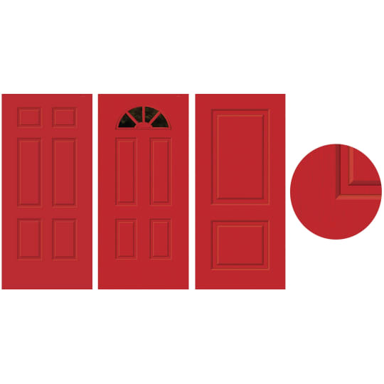 Dementia friendly Door-Cals Decorative Door Coverings