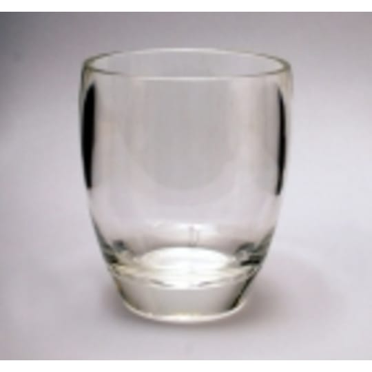 Dementia friendly Acrylic Belly Glass  (not part of the Unbreakable range)