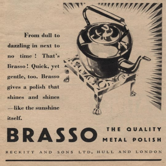 Dementia friendly Brasso Meat Polish - A4 (210 x 297mm)
