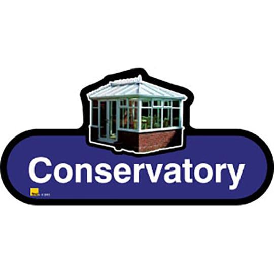 Conservatory - Dementia Signage