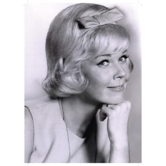 Dementia friendly Doris Day - A4 (210 x 297mm)