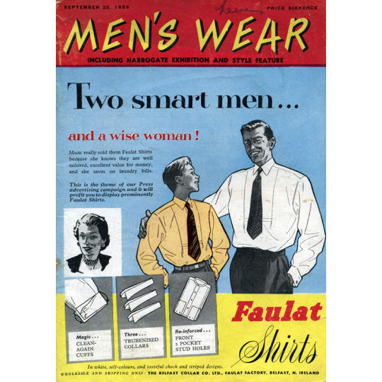 Dementia friendly Faulat Shirts for Men  - A4 (210 x 297mm)