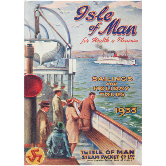 Isle of man 1933  - A4 (210 x 297mm)