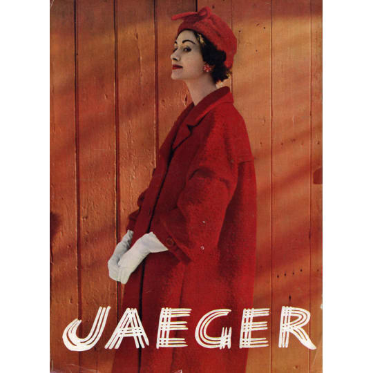 Jaeger Red Coat - A4 (210 x 297mm)