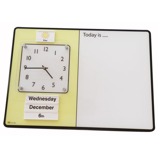 Day / Night Personal Dry Wipe Orientation Board