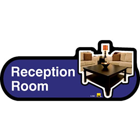 Reception Room - Dementia Signage