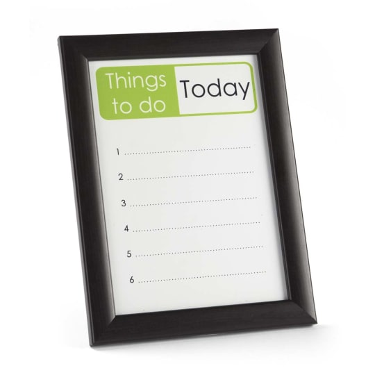 Dementia friendly Dry-Wipe Reminder Frames - Memory Aid