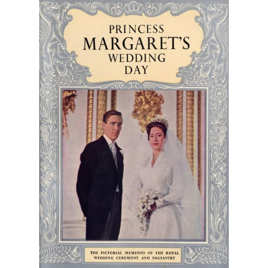 Princess Margaret's Wedding Day - A4 (210 x 297mm)