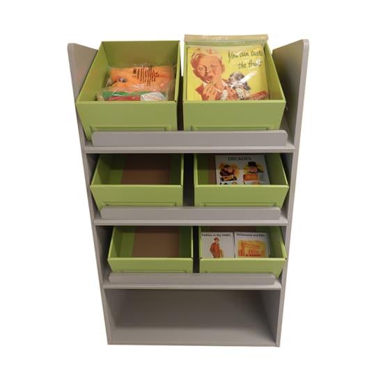 Interactive furniture Rummage Box Display