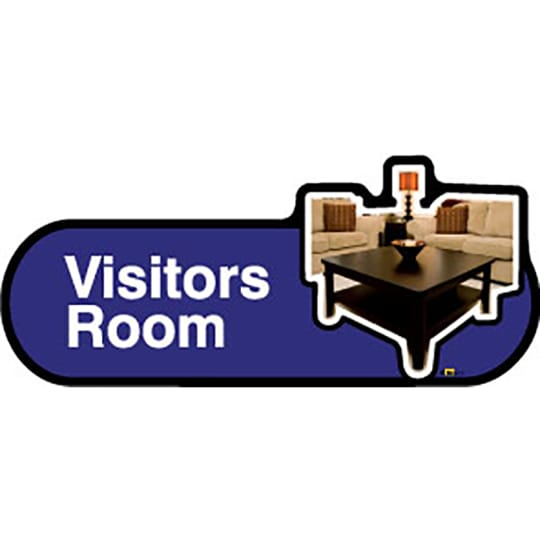 Dementia friendly Visitors Room - Dementia Signage