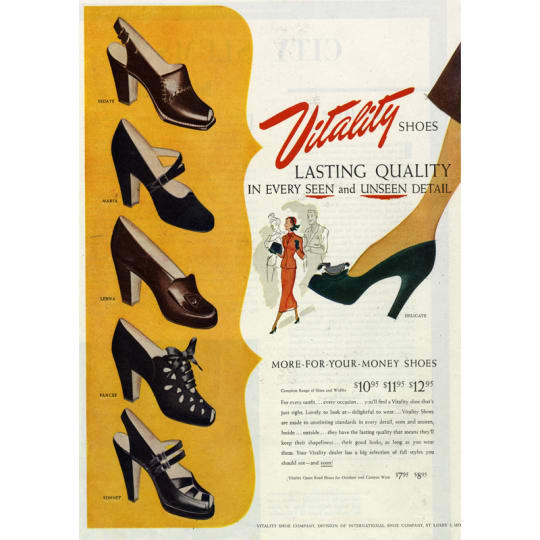 Vitality Shoes - A4 (210 x 297mm)