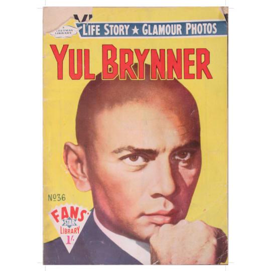Dementia friendly Yul Brynner - A4 (210 x 297mm)