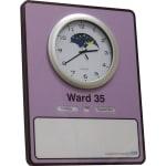 Crockett Clock with Dry Wipe Board - Dementia-Friendly