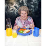 Find Dining coloured place setting for dementia and alzheimers care