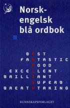 Norsk-engelsk blå ordbok