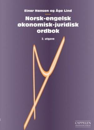 Norsk-engelsk økonomisk-juridisk ordbok