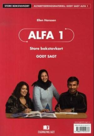 Godt sagt Alfa 1, Store bokstavkort