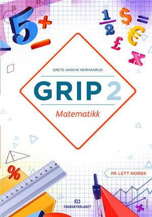 Grip 2 Matematikk Grunnbok, d-bok (BM)