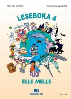Elle Melle Leseboka 4, d-bok