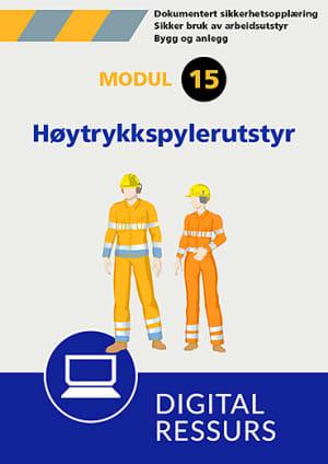 Sikker bruk av arbeidsutstyr Modul 15, powerpoint