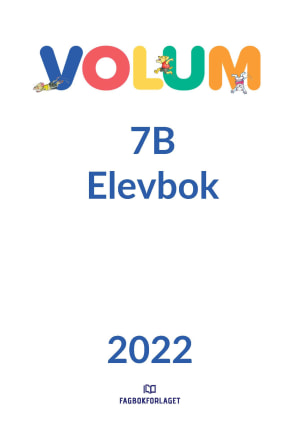 Volum 7B Elevbok