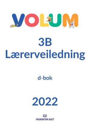 Volum 3B Lærerveiledning, d-bok