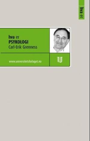 Hva er psykologi