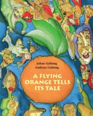 A flying orange tells its tale