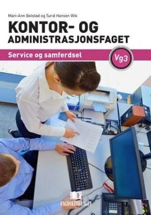 Kontor- og administrasjonsfaget vg3, d-bok