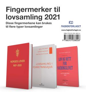 Fingermerker til lovsamling 2021