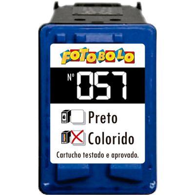 Cartucho HP 57 COLORIDO - com Corante Comestível
