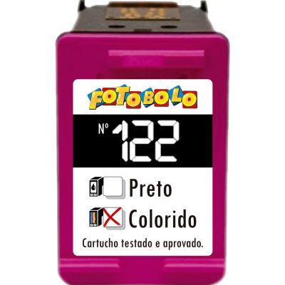 Cartucho 122 COLORIDO - com Corante Comestível