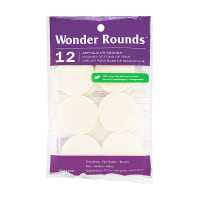 Buy Wonder Rounds Cosmetic Puffs #1007 12 Count online at best price, reviews