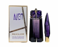 Buy Alien By Thierry Mugler Travel Exclusive Gift Set 2pc-- 3 oz Eau De Parfum Spray  + 0.3 oz Body Lotion + 0.3 oz Purse Spray for Women online at best price, reviews