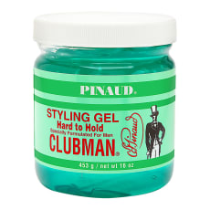 Clubman Pinaud Styling Gel Hard to Hold 16.0 oz