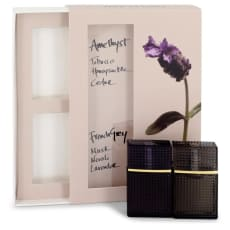 Nirvana French Grey by Elizabeth and James Mini Gift Set -- .22 oz Mini EDP French Grey + .22 oz Mini EDP Amethyst for Women