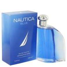 NAUTICA BLUE by Nautica 3.4 oz Eau De Toilette Spray for Men