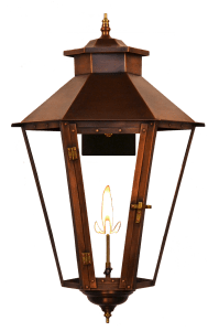 Bayou Street Gas Lantern