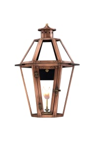 Rampart Wall Mount Copper Lantern by Primo