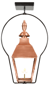 Montreal Gas Lantern by Copper Sculptures