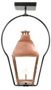 Old World Gas Copper Lantern