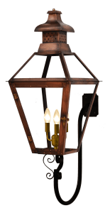 Pebble Hill Lantern with Goose Neck Bracket