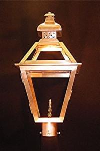 Tradd Street Post Top Outdoor Lantern
