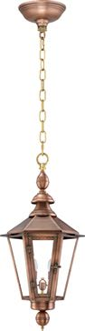 Vicksburg Hanging Chain Copper Lantern by Primo