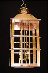 East Bay Chain Hung Outdoor Lantern