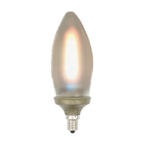 Frost LED Flame Lightbulb