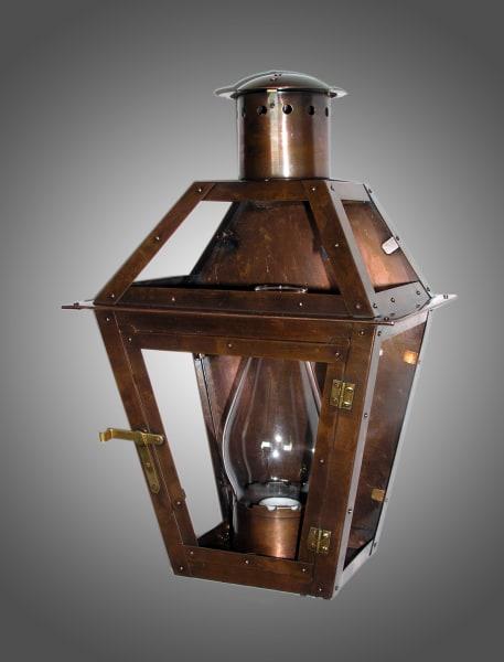 Bourbon Street flush mount lantern