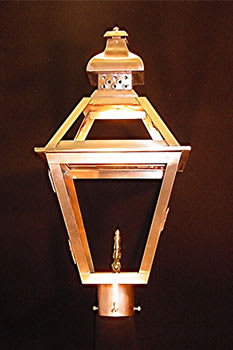 Tradd Street Post Top Outdoor Lantern