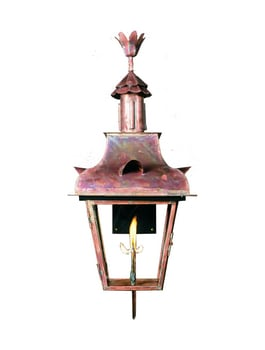 Toulouse Lantern by Copper Sculptures