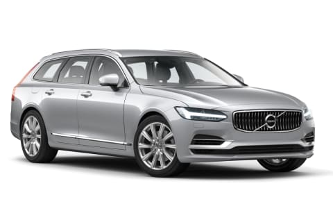Volvo V90 Inscription Bright Silver Metallic